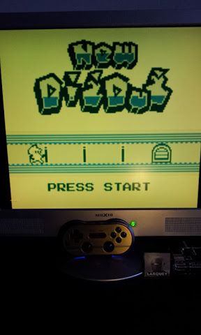 Larquey: Namco Gallery Vol.2: Dig Dug [New] (Game Boy Emulated) 12,600 points on 2017-01-15 03:32:15