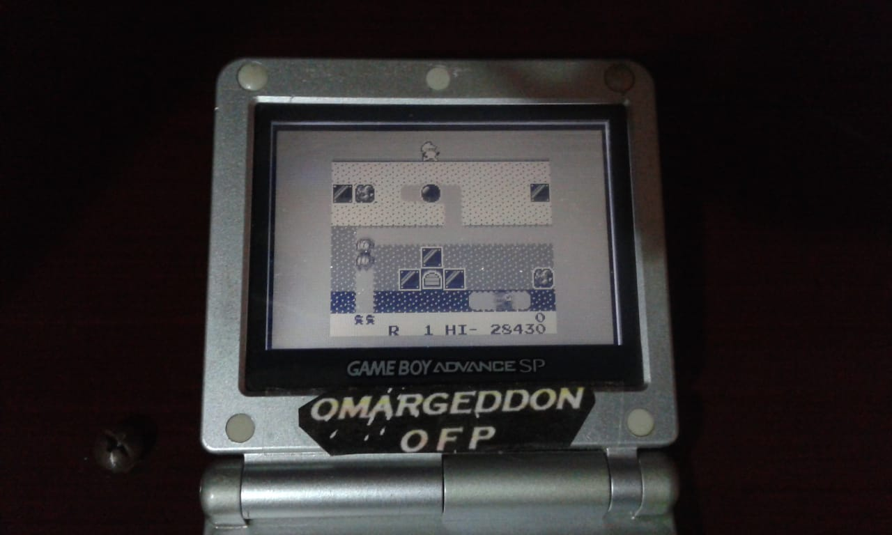 omargeddon: Namco Gallery Vol.2: Dig Dug [New] (Game Boy) 28,430 points on 2018-08-23 12:27:45