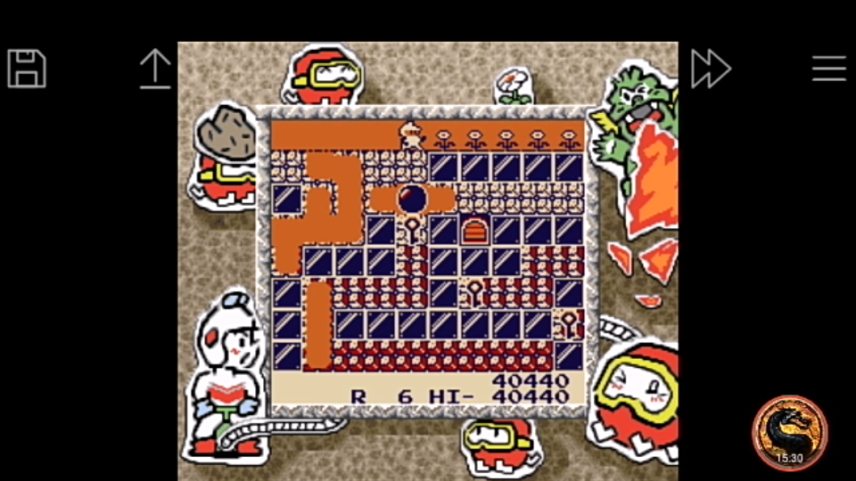 omargeddon: Namco Gallery Vol.2: Dig Dug [New] (Game Boy Emulated) 40,440 points on 2018-12-04 20:40:22