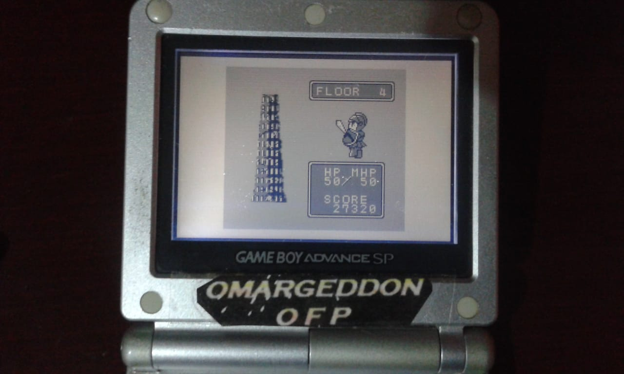 omargeddon: Namco Gallery Vol.2: The Tower of Druaga (Game Boy) 27,320 points on 2018-10-14 12:41:11