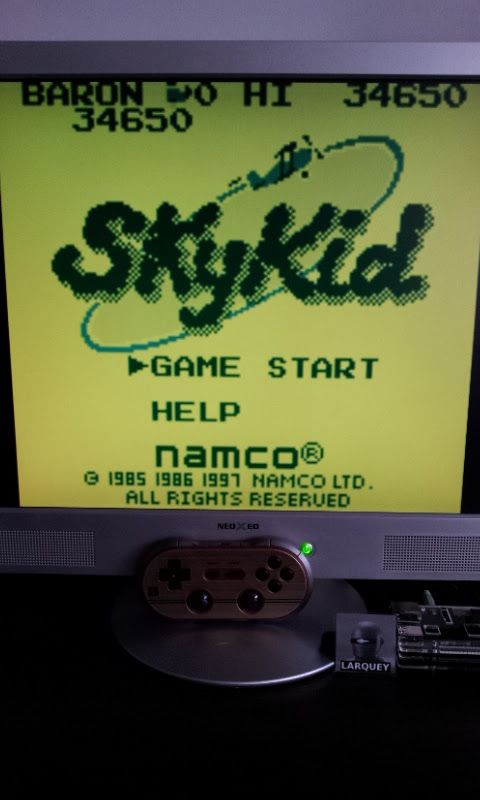 Larquey: Namco Gallery Vol.3: Sky Kid (Game Boy Emulated) 34,650 points on 2017-01-14 09:31:45