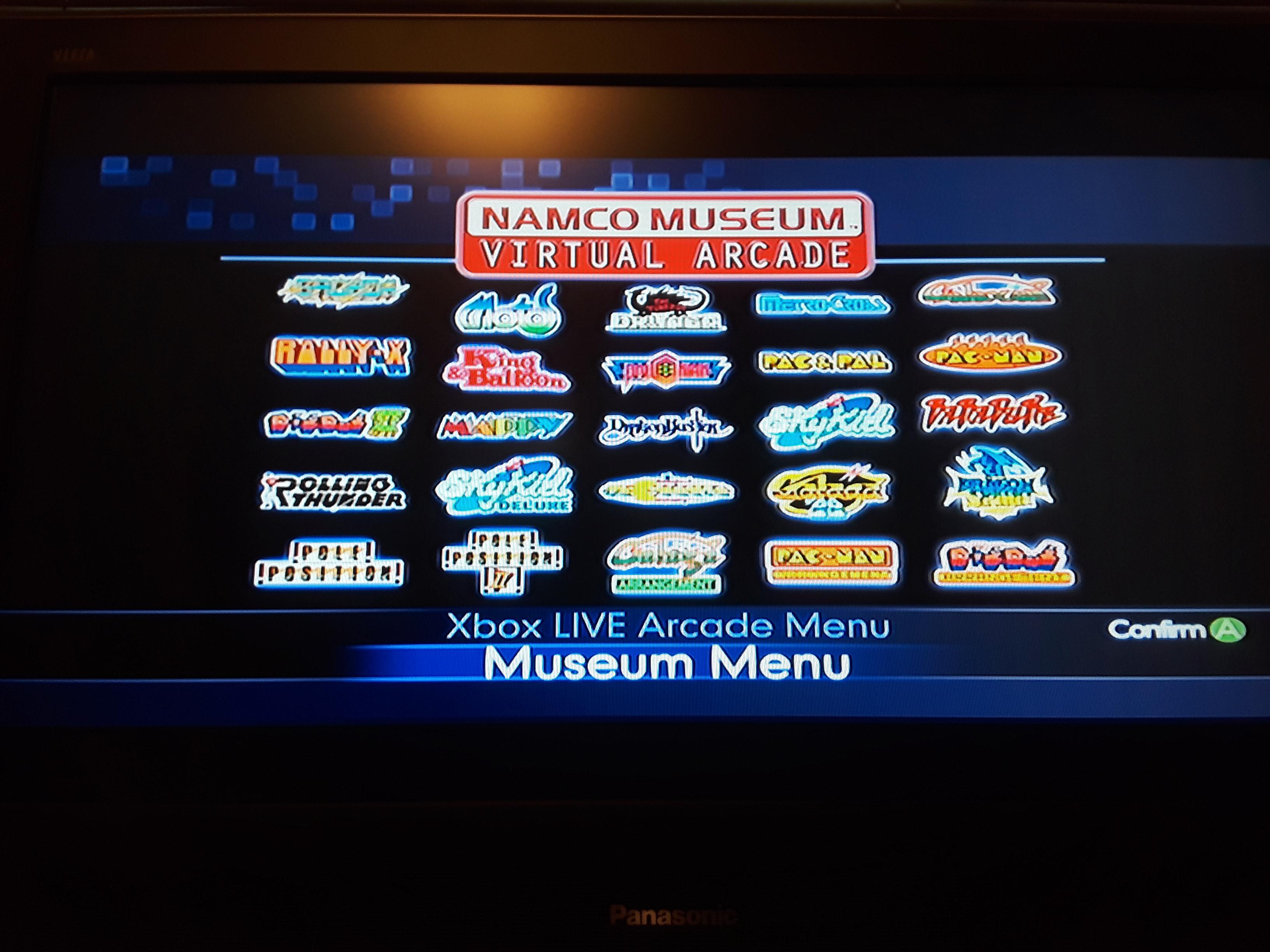 Namco Muesum Virtual Arcade: Sky Kid 14,880 points