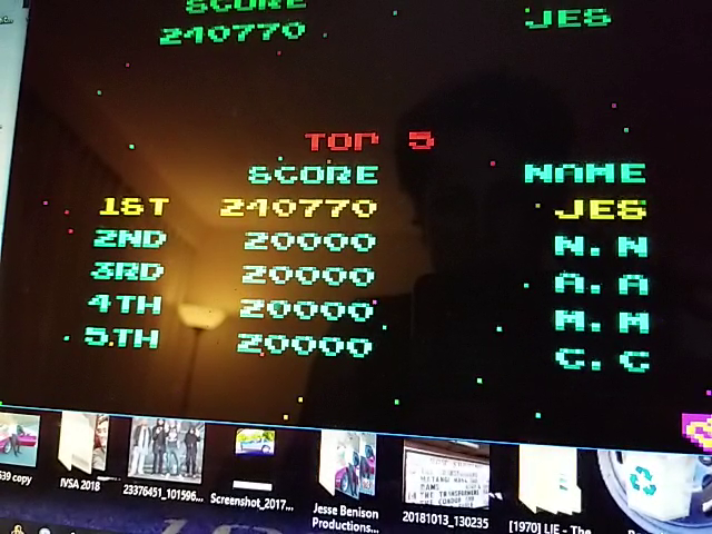 JES: Namco Museum 50th Anniversary: Galaga (GBA Emulated) 240,770 points on 2018-11-14 22:02:34