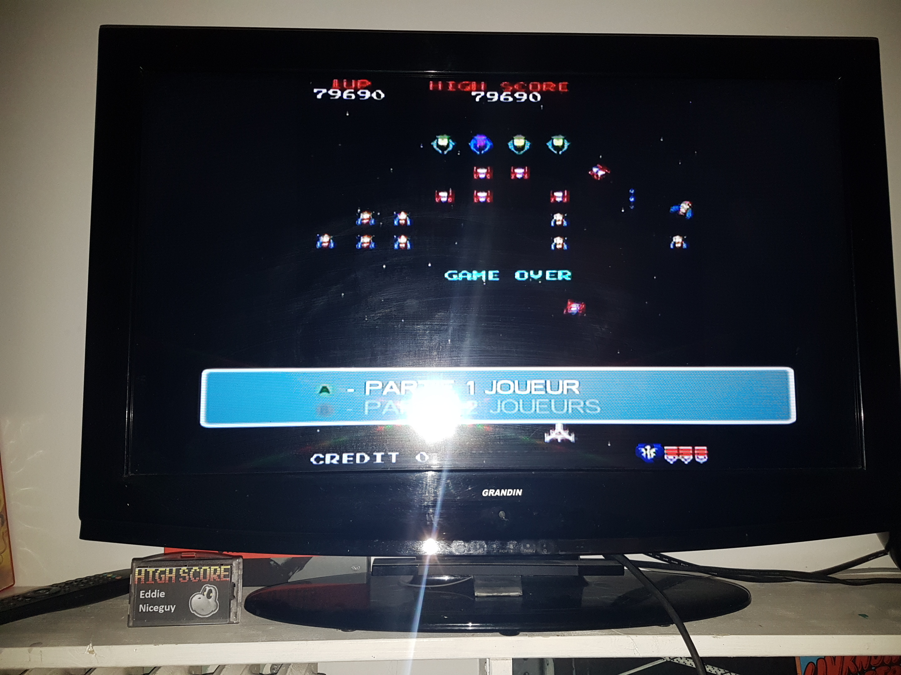 EddieNiceguy: Namco Museum 50th Anniversary: Galaga (GameCube) 79,690 points on 2019-03-08 17:17:15