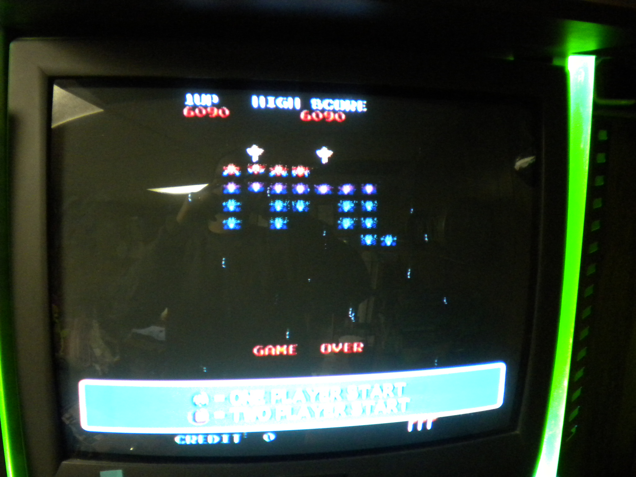 Namco Museum 50th Anniversary: Galaxian 6,090 points