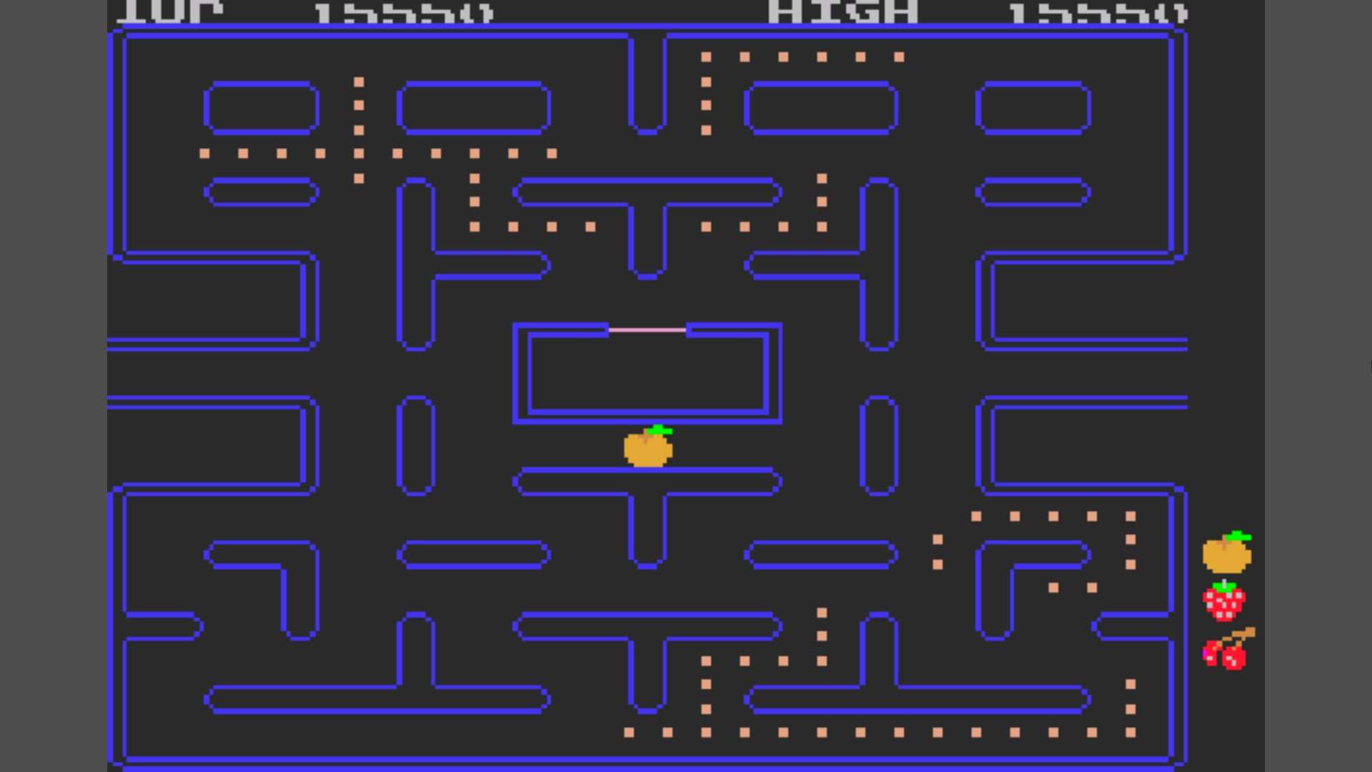 Namco Museum 50th Anniversary: Pac-Man 15,550 points
