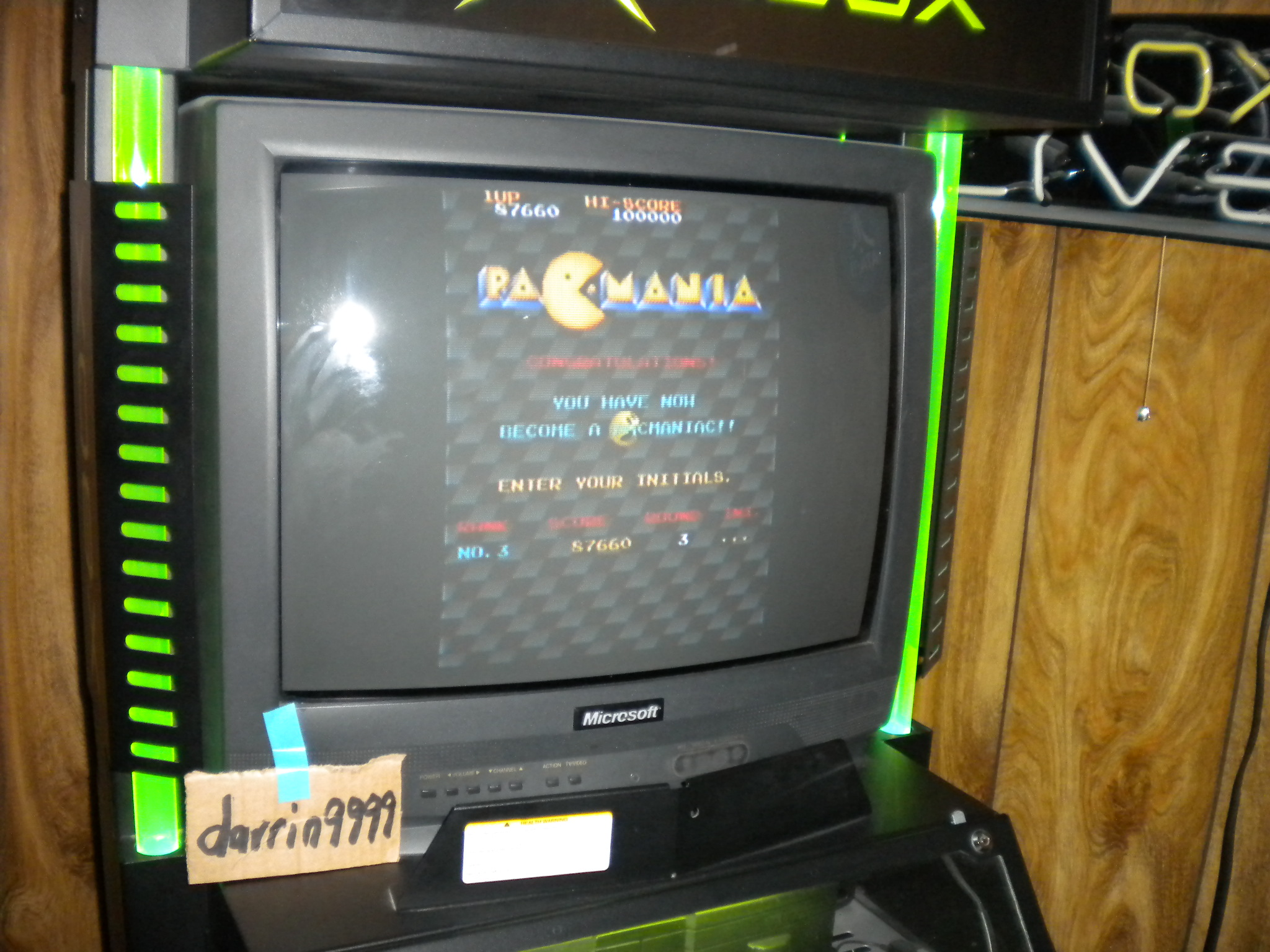 darrin9999: Namco Museum 50th Anniversary: Pac-Mania (Xbox) 87,660 points on 2017-07-29 15:50:36