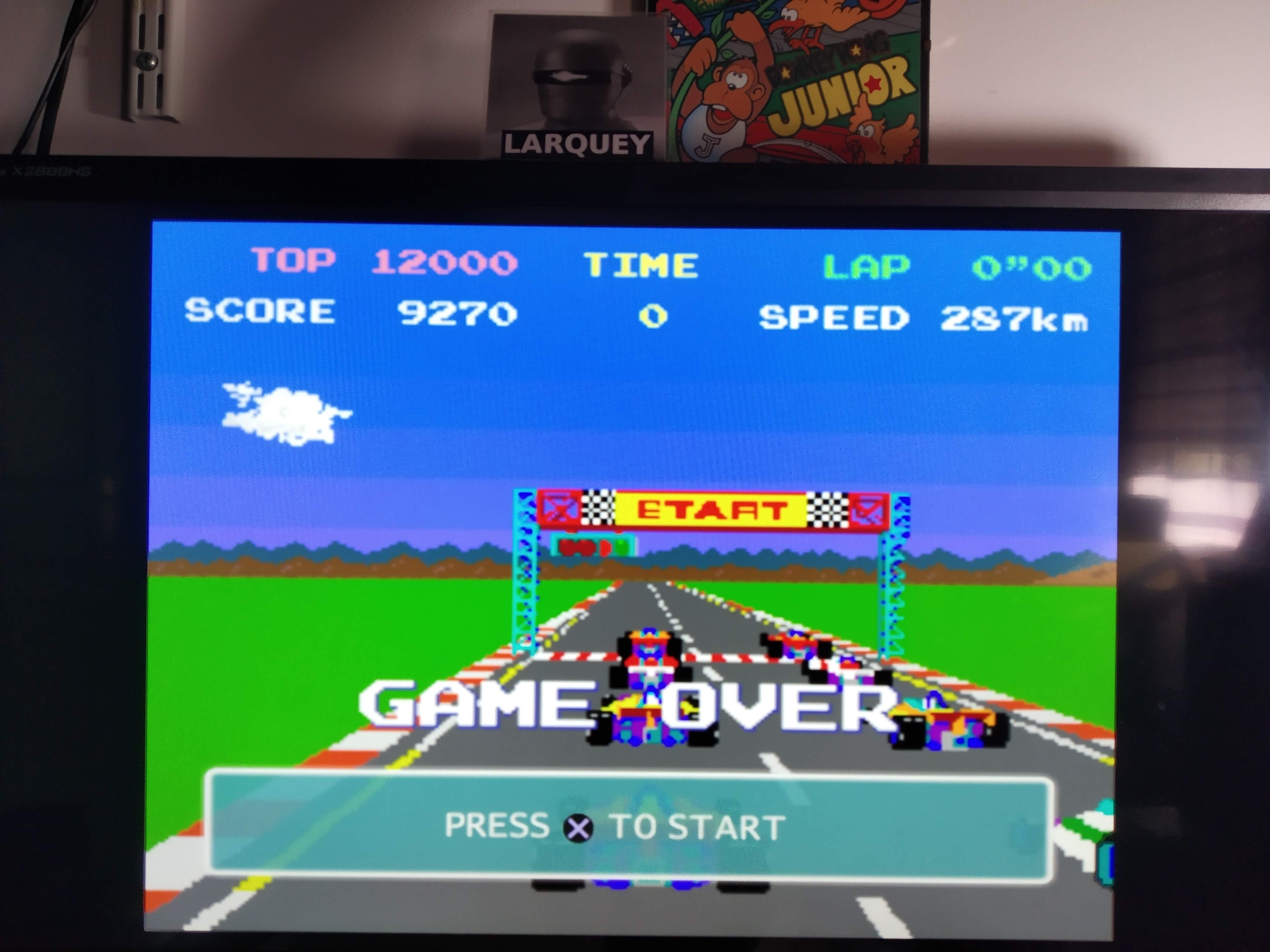 Larquey: Namco Museum 50th Anniversary: Pole Position (Playstation 2 Emulated) 9,270 points on 2020-08-06 13:25:06
