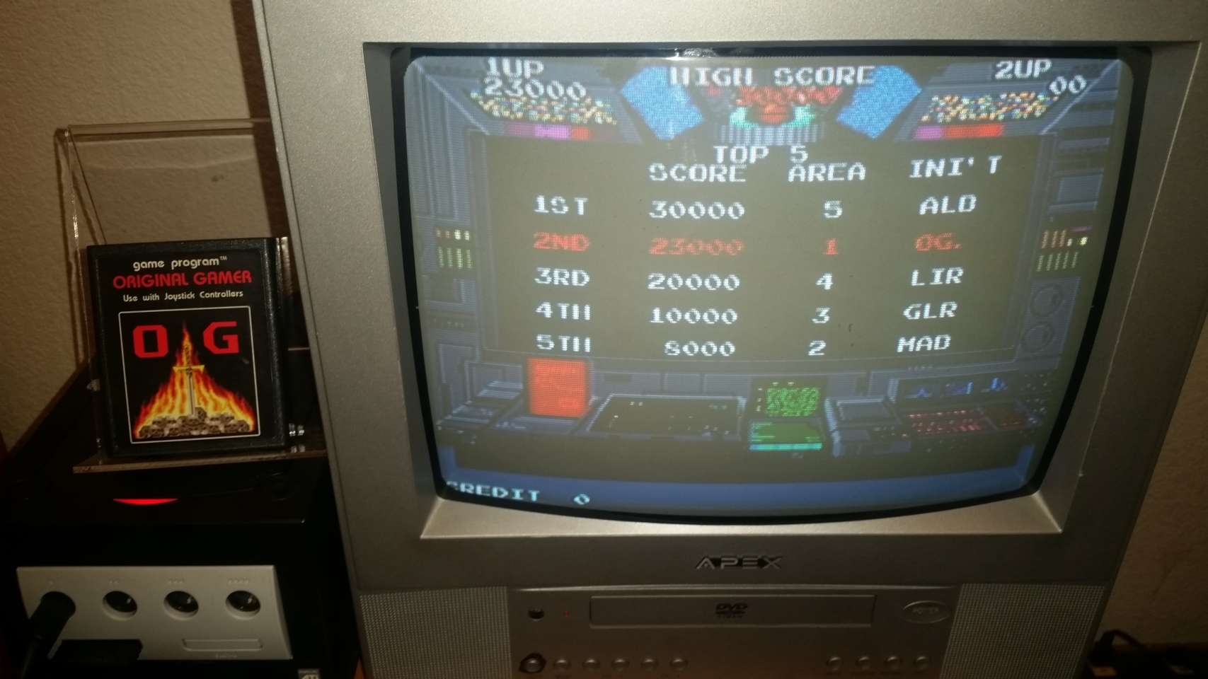 Namco Museum 50th Anniversary: Rolling Thunder 23,000 points