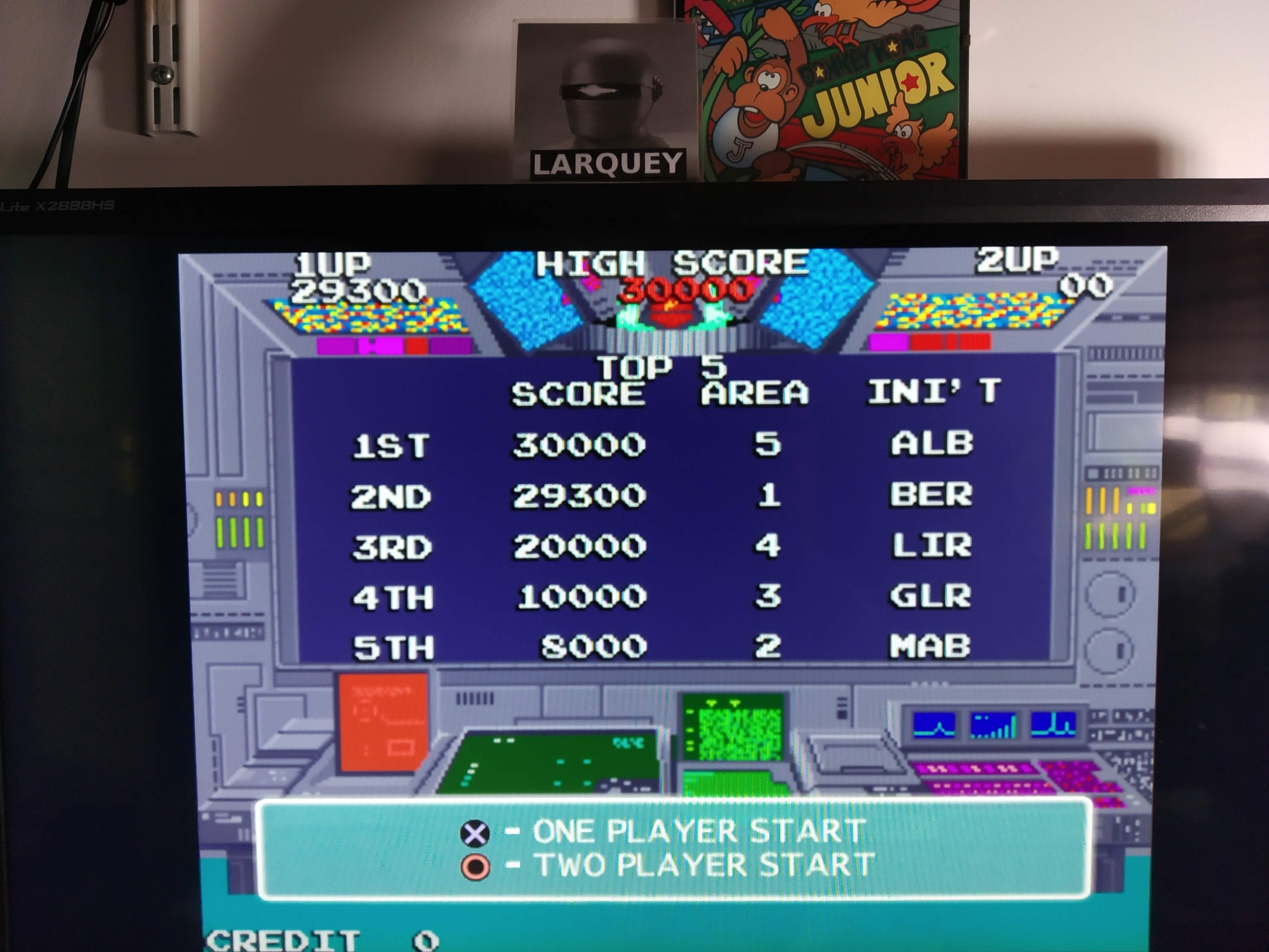 Larquey: Namco Museum 50th Anniversary: Rolling Thunder (Playstation 2 Emulated) 29,300 points on 2020-08-06 13:09:33