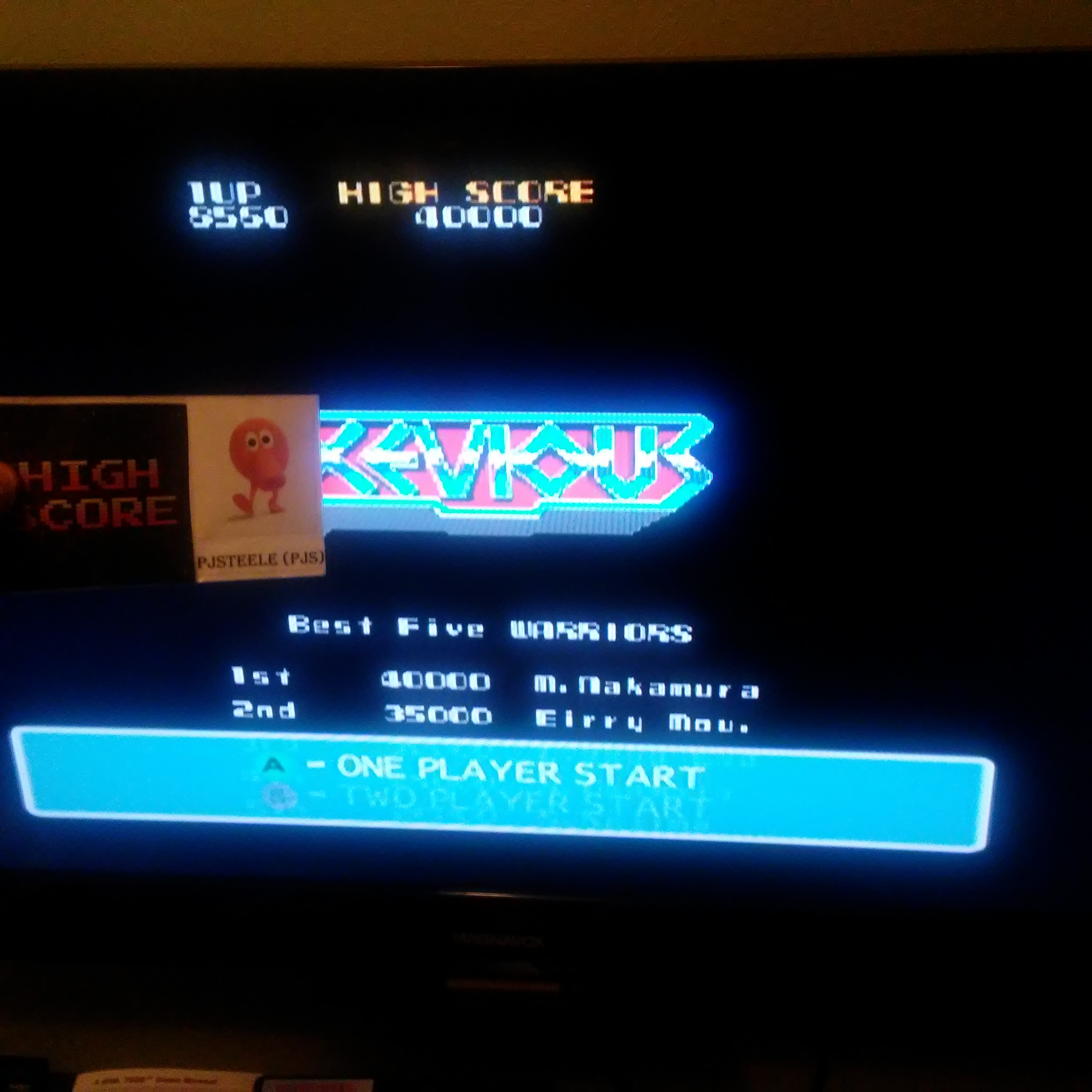 Pjsteele: Namco Museum 50th Anniversary: Xevious (GameCube) 8,560 points on 2018-01-26 23:18:20