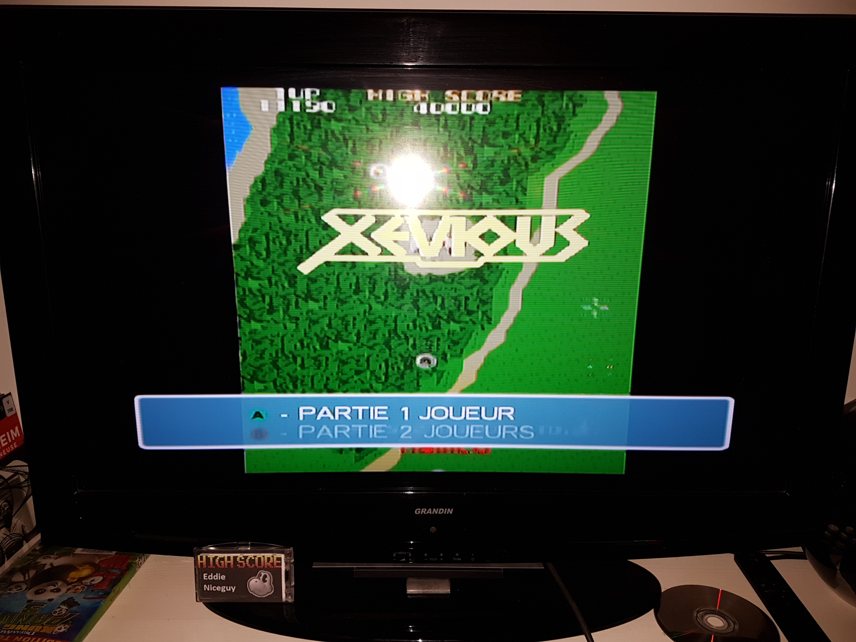 EddieNiceguy: Namco Museum 50th Anniversary: Xevious (GameCube) 11,190 points on 2019-03-15 17:33:50
