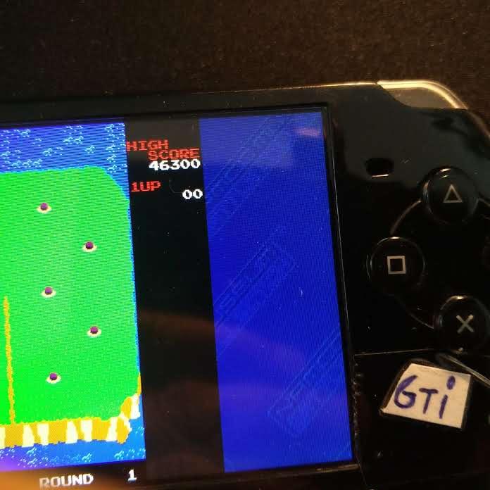 GTibel: Namco Museum: Battle Collection: Dig Dug II (PSP) 46,300 points on 2019-07-15 00:59:37
