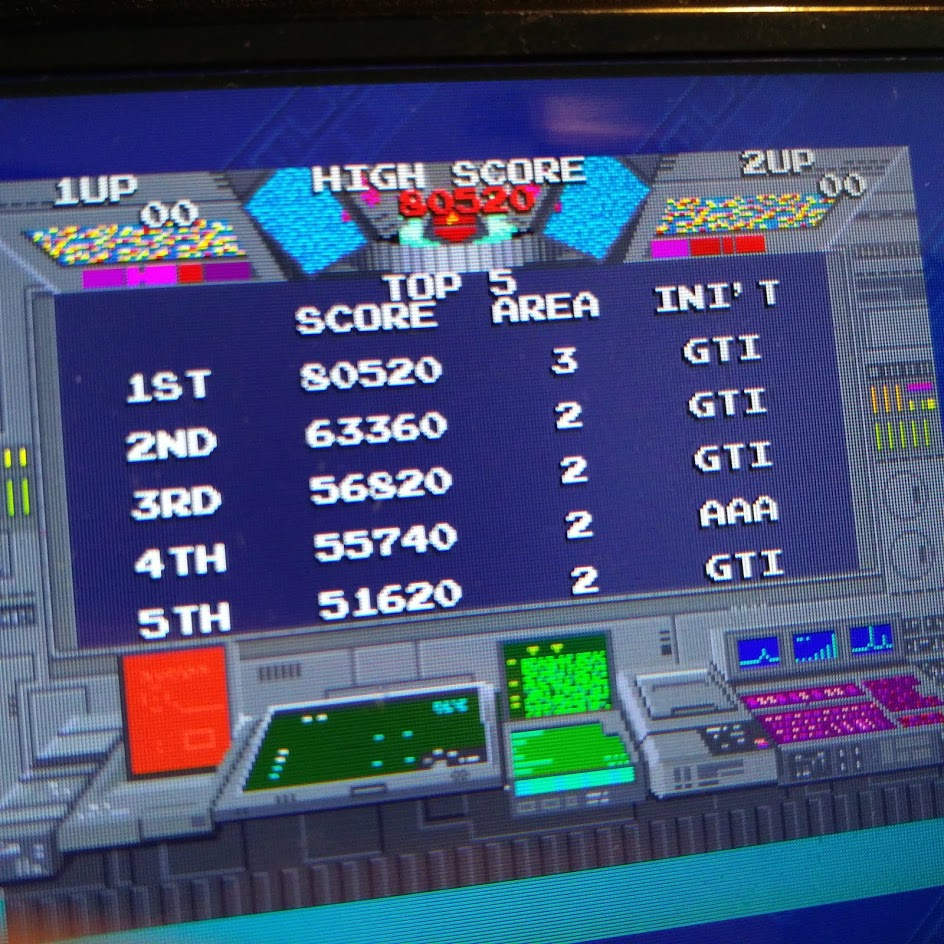 Namco Museum: Battle Collection: Rolling Thunder 80,520 points