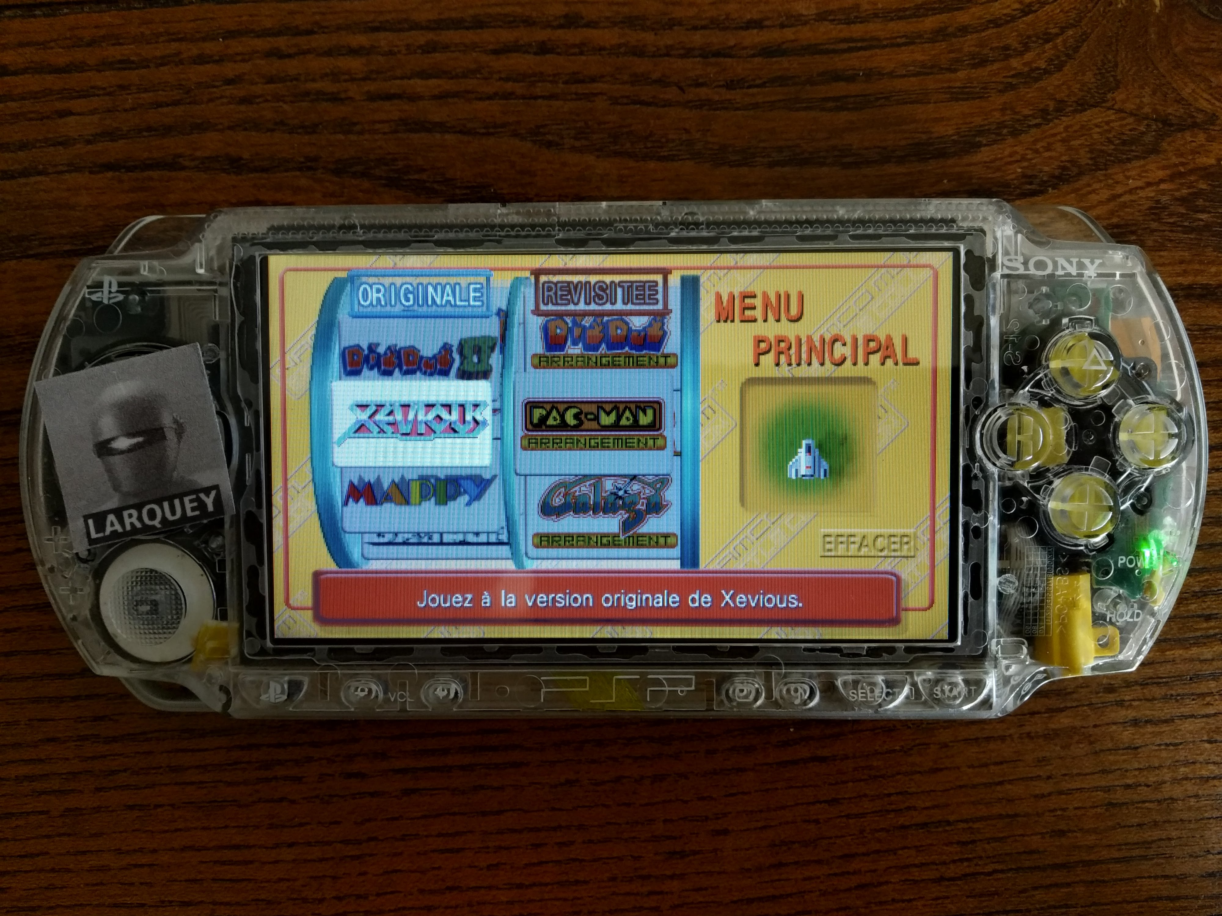 Larquey: Namco Museum: Battle Collection: Xevious (PSP) 37,110 points on 2020-07-27 09:12:07