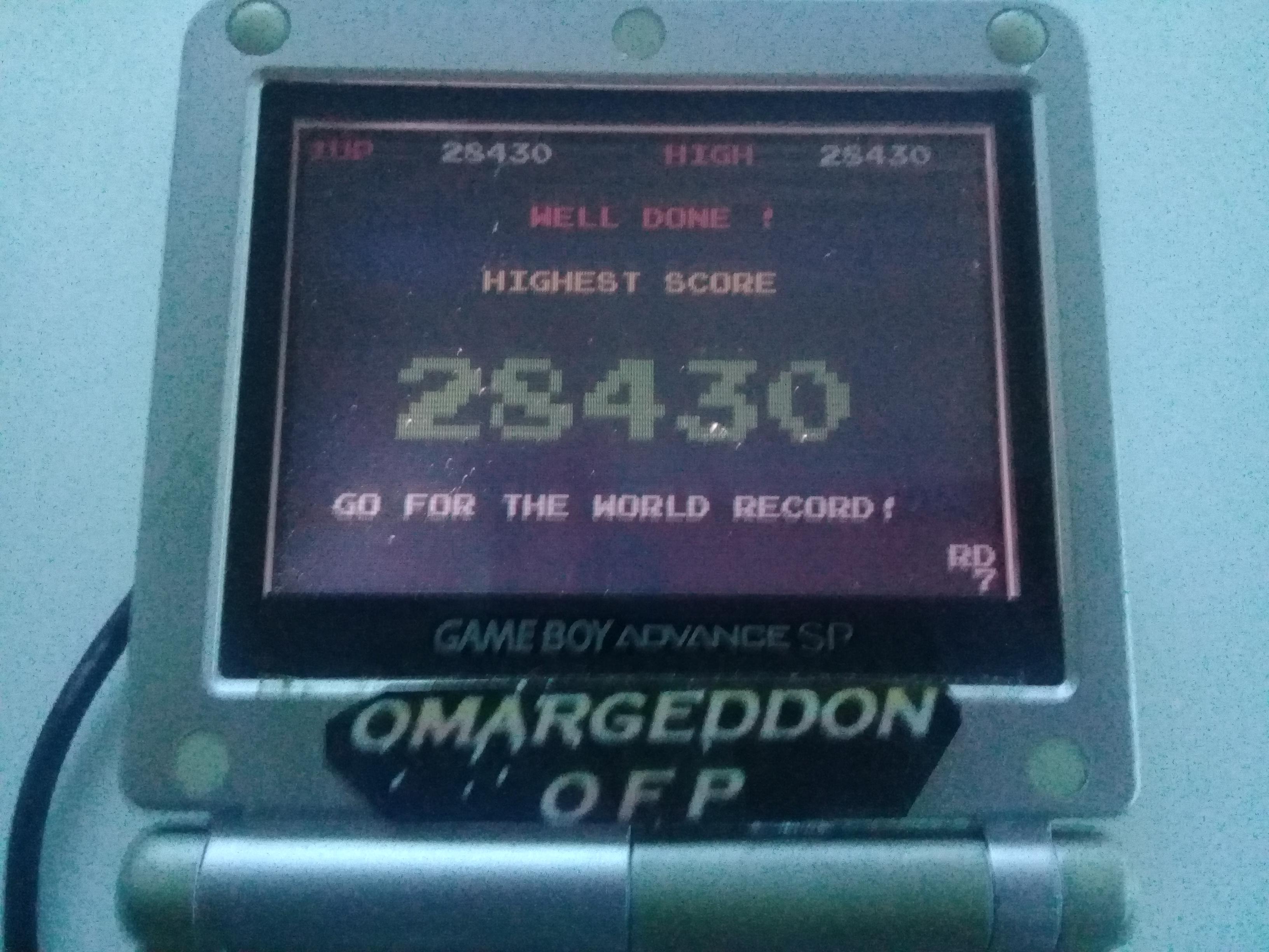 omargeddon: Namco Museum: Dig Dug (GBA) 28,430 points on 2018-12-08 16:59:35