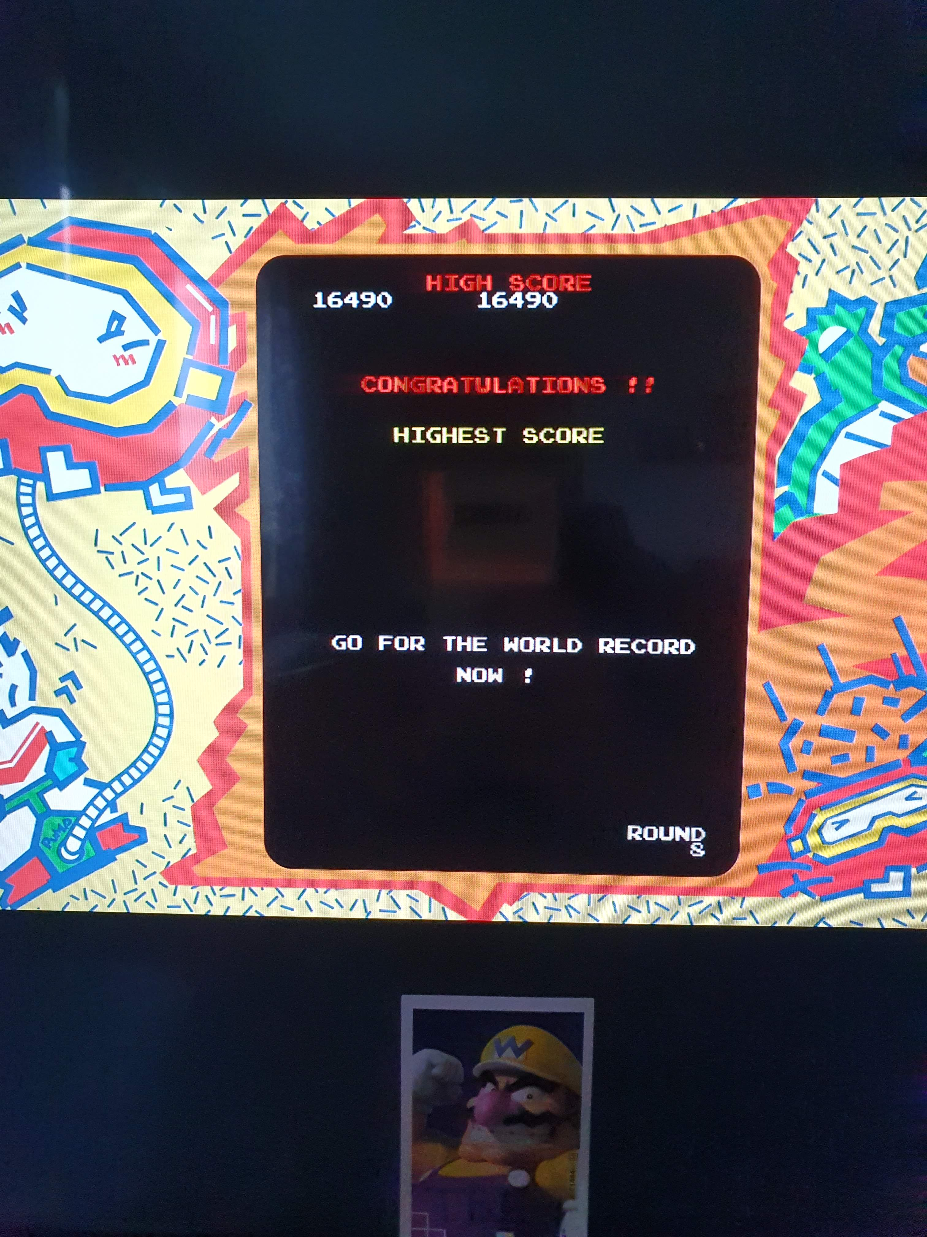 Sixx: Namco Museum: Dig-Dug [Normal] (Nintendo Switch) 16,490 points on 2020-05-01 10:51:49