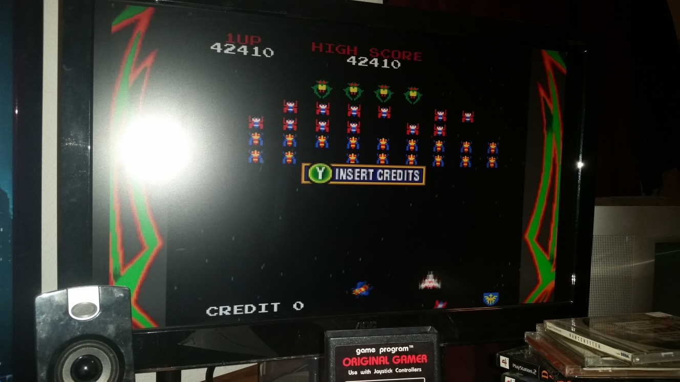 OriginalGamer: Namco Museum: Galaga (Dreamcast) 42,410 points on 2016-06-15 23:36:18
