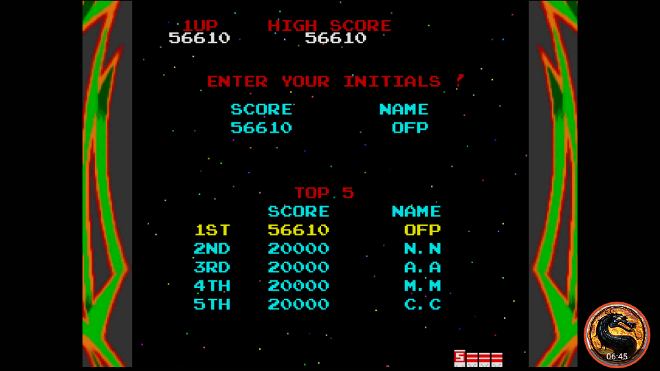 omargeddon: Namco Museum: Galaga (Dreamcast Emulated) 56,610 points on 2019-10-18 23:15:58