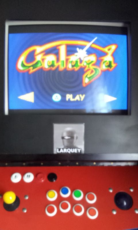 Larquey: Namco Museum: Galaga (GBA Emulated) 63,160 points on 2017-11-03 05:03:09