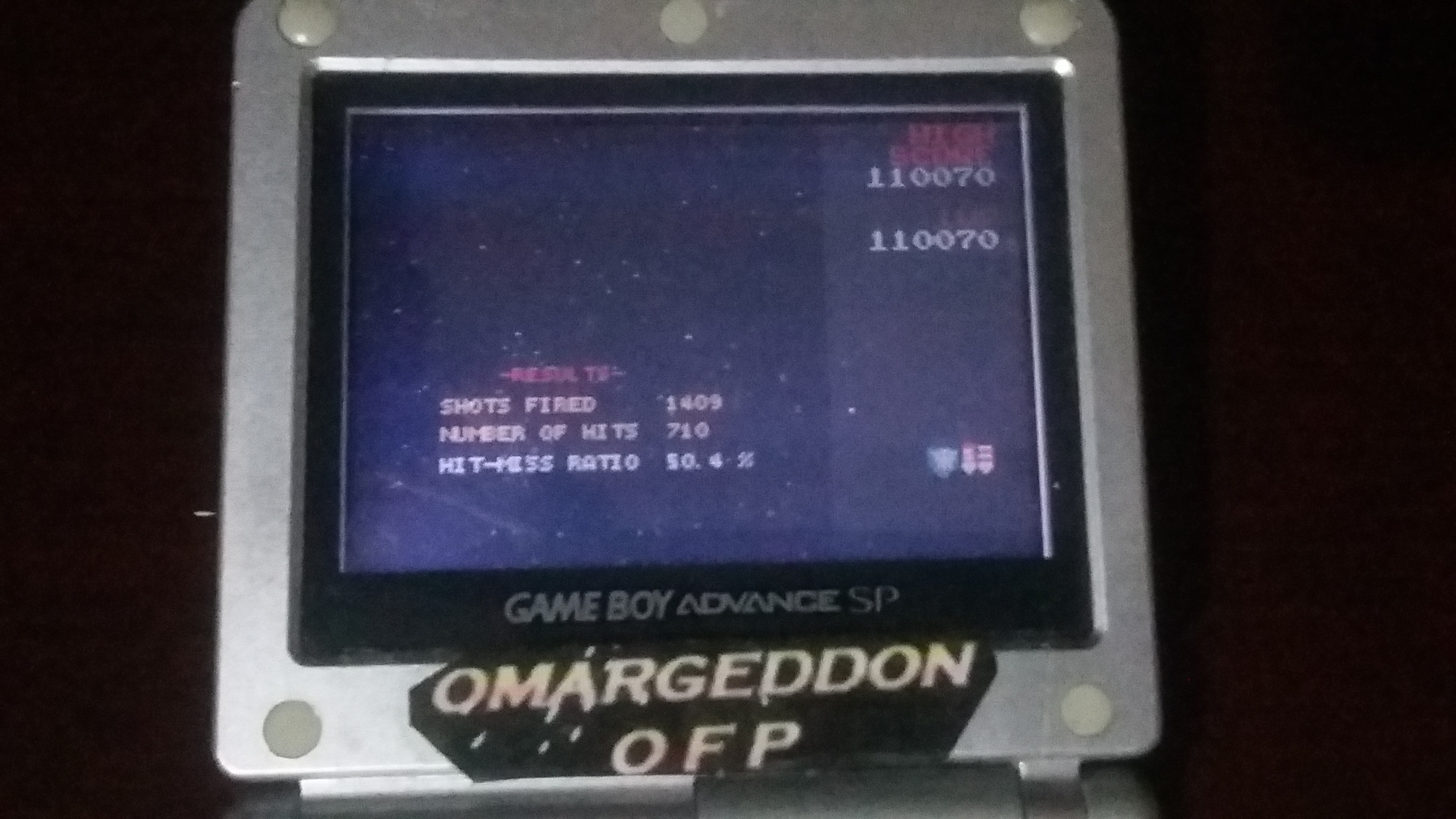 omargeddon: Namco Museum: Galaga (GBA) 110,070 points on 2018-04-11 19:59:01
