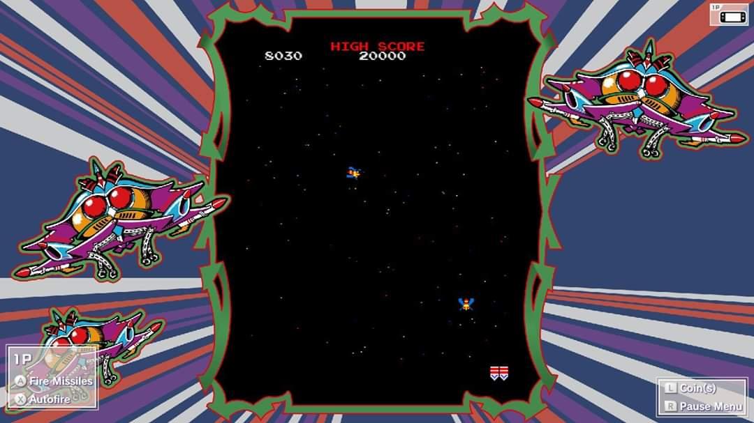 JML101582: Namco Museum: Galaga [Normal] (Nintendo Switch) 8,030 points on 2020-01-15 22:27:12