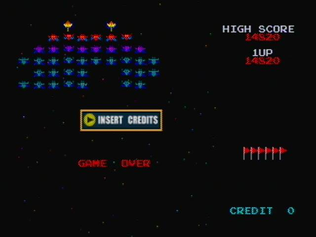 derek: Namco Museum: Galaxian (N64) 14,820 points on 2016-04-12 21:03:00
