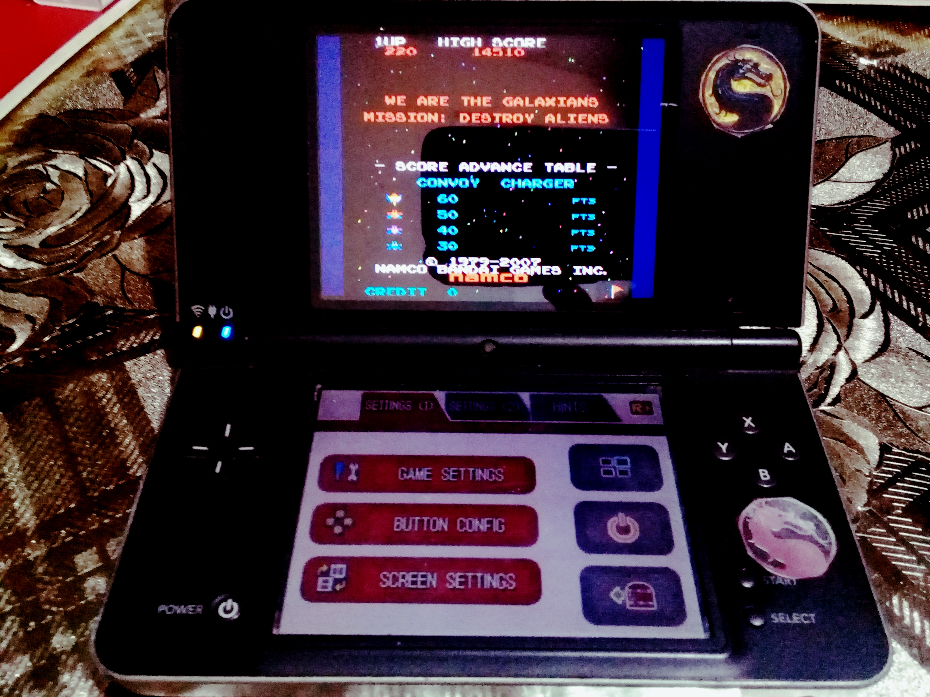 omargeddon: Namco Museum: Galaxian (Nintendo DS) 14,510 points on 2021-02-01 11:02:55