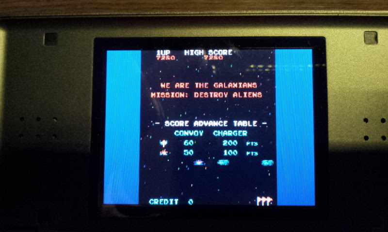 Larquey: Namco Museum: Galaxian (Nintendo DS) 7,280 points on 2017-08-13 16:26:43
