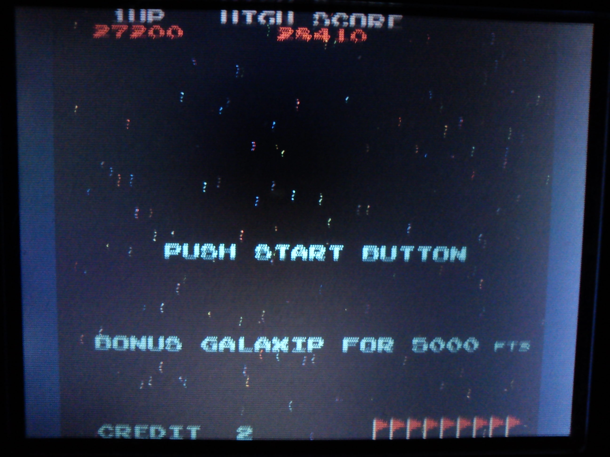 Gustlik: Namco Museum: Galaxian (Nintendo DS) 28,410 points on 2017-09-27 20:39:29