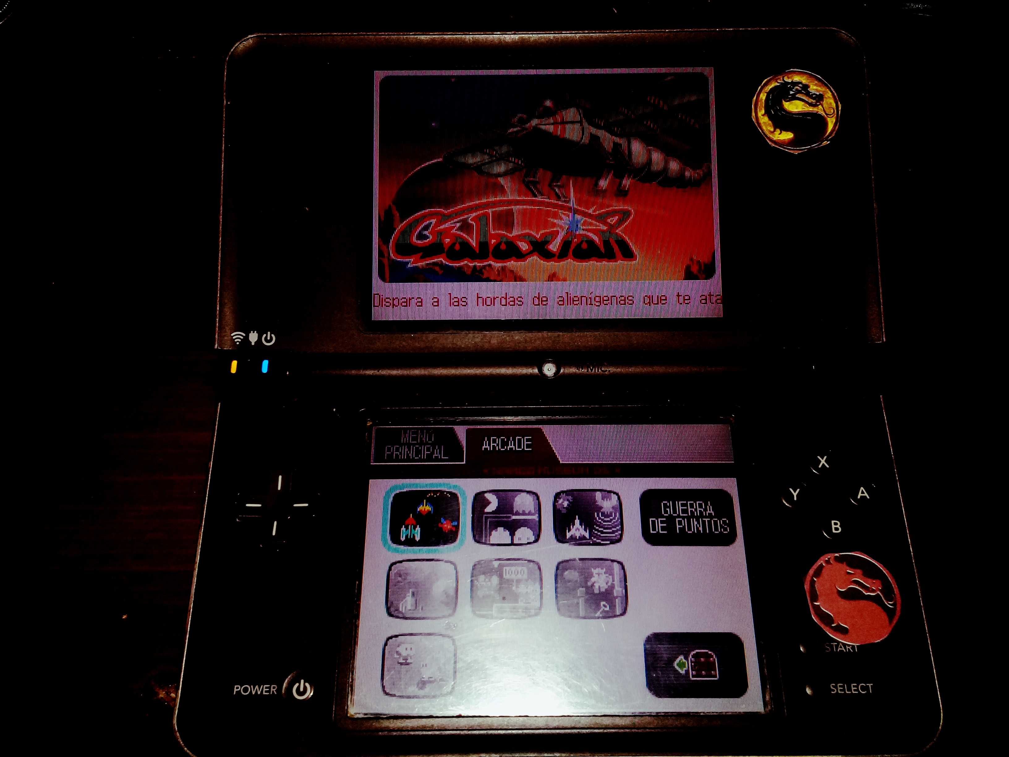 omargeddon: Namco Museum: Galaxian (Nintendo DS) 13,750 points on 2020-08-09 01:32:16