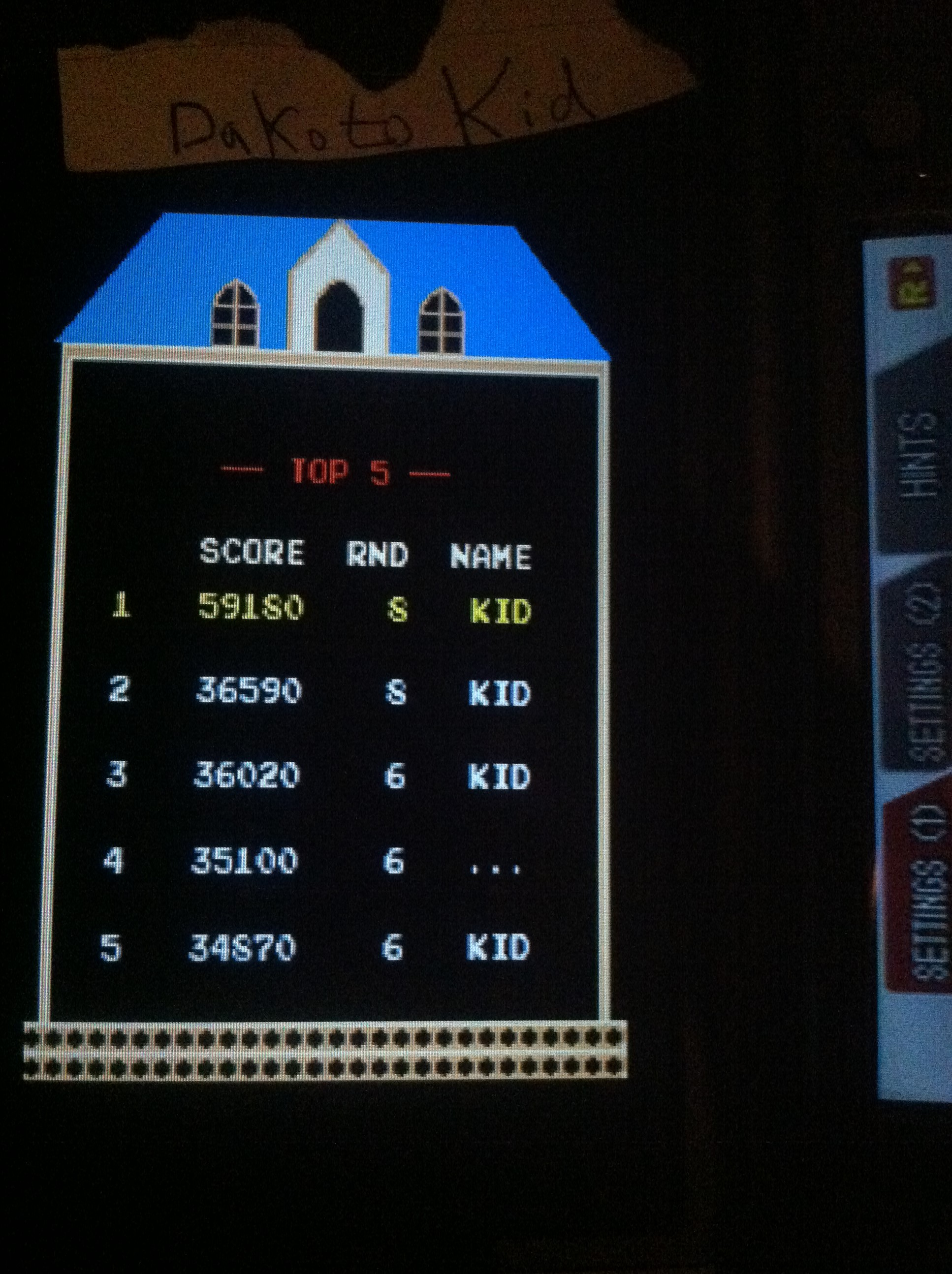 DakotaKid: Namco Museum: Mappy (Nintendo DS) 36,590 points on 2017-09-13 19:25:06