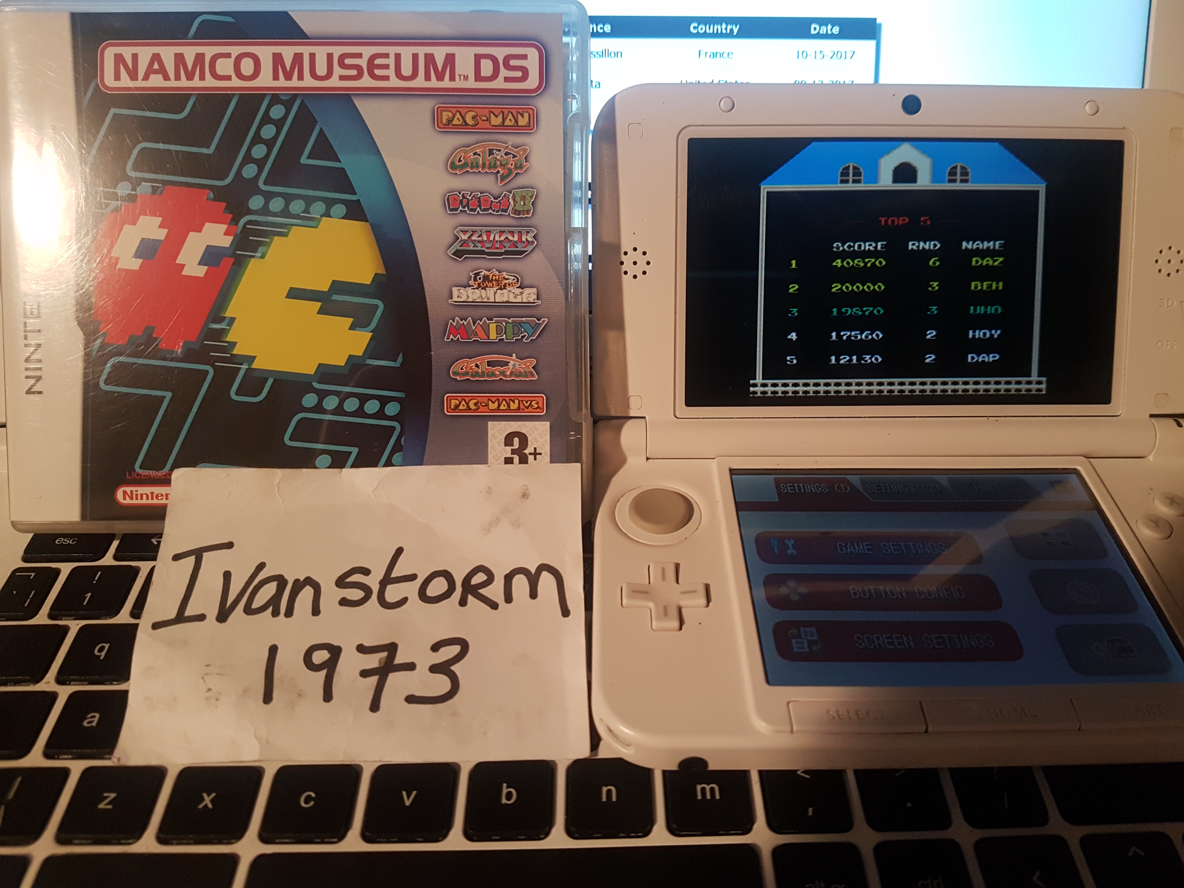 Namco Museum: Mappy 40,870 points