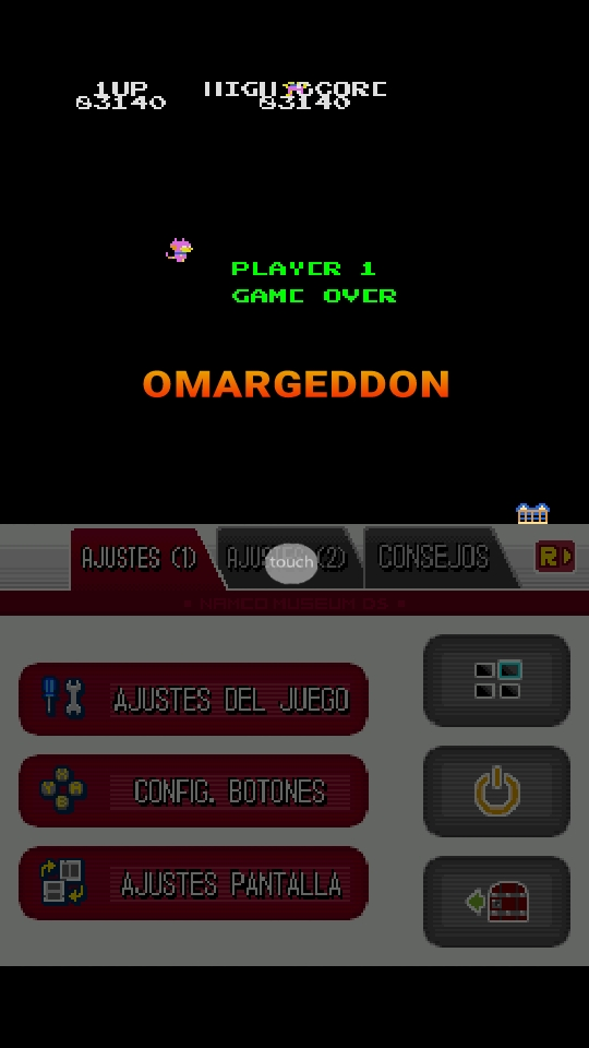 omargeddon: Namco Museum: Mappy (Nintendo DS Emulated) 83,140 points on 2018-10-07 02:07:08