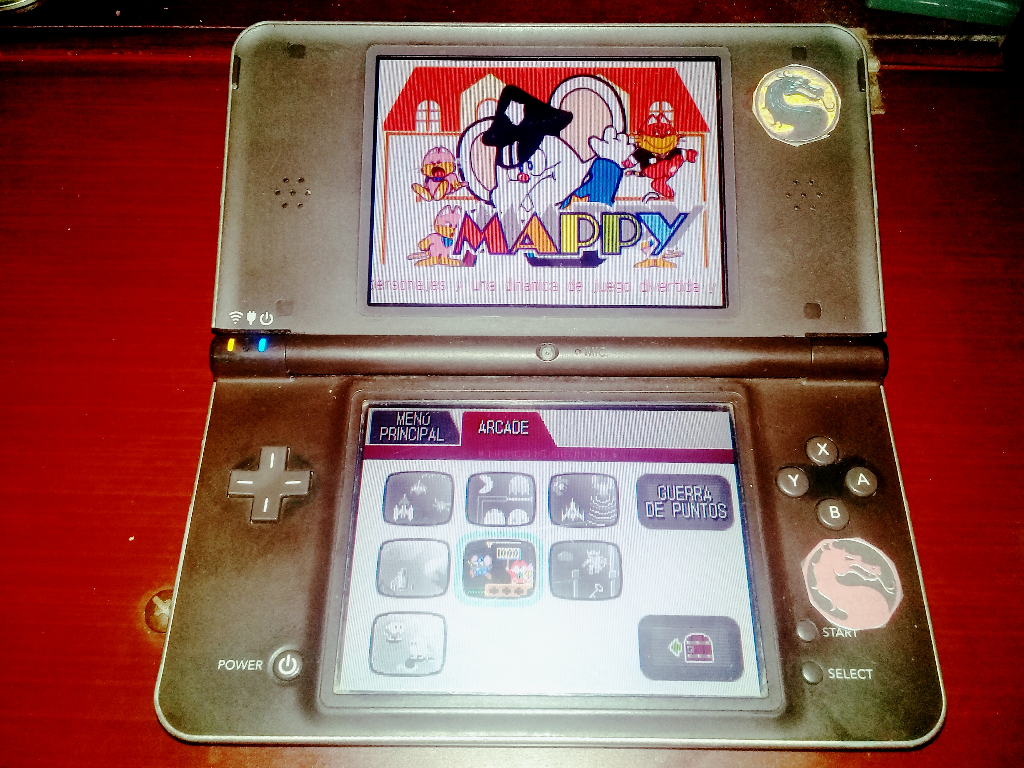 omargeddon: Namco Museum: Mappy (Nintendo DS) 68,560 points on 2020-08-09 01:19:08