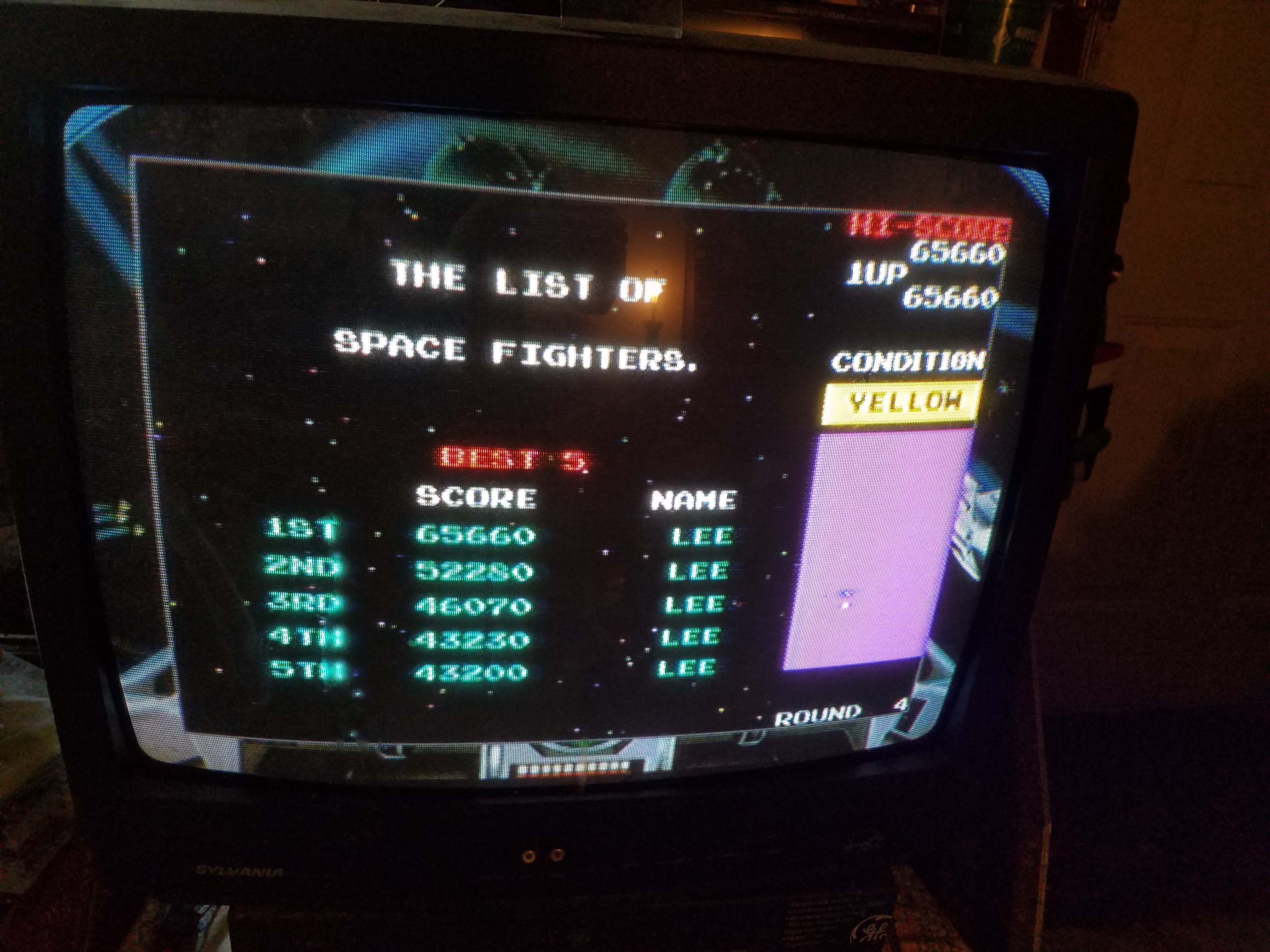 LeeJ07: Namco Museum Megamix: Bosconian (Wii) 65,660 points on 2017-06-25 17:47:43