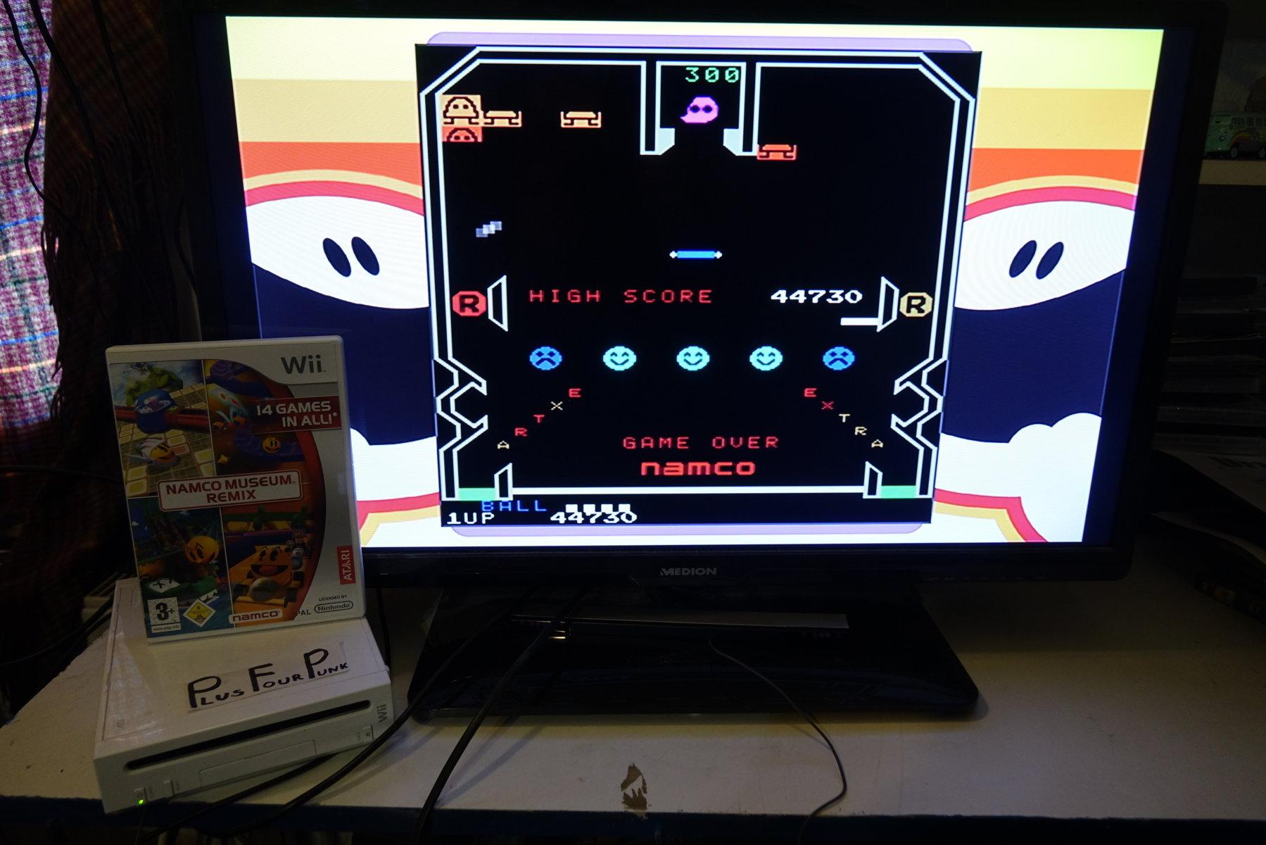 plus4punk: Namco Museum Megamix: Cutie Q (Wii) 44,730 points on 2020-05-11 11:57:32