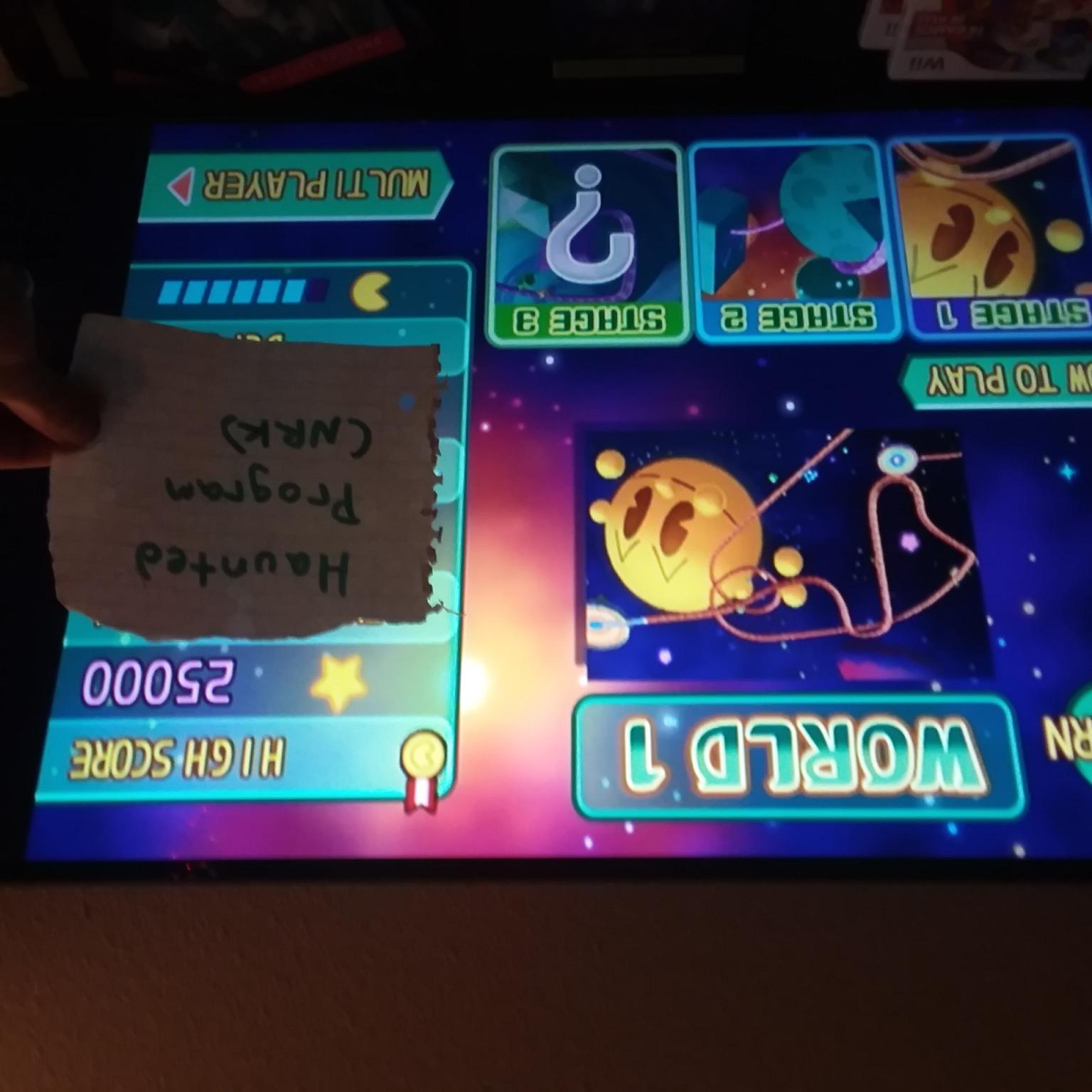 Namco Museum Megamix [Galaga Remix 1-1] 25,000 points
