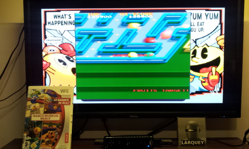 Larquey: Namco Museum Megamix: Pac-Mania (Wii) 135,900 points on 2018-05-20 10:26:49