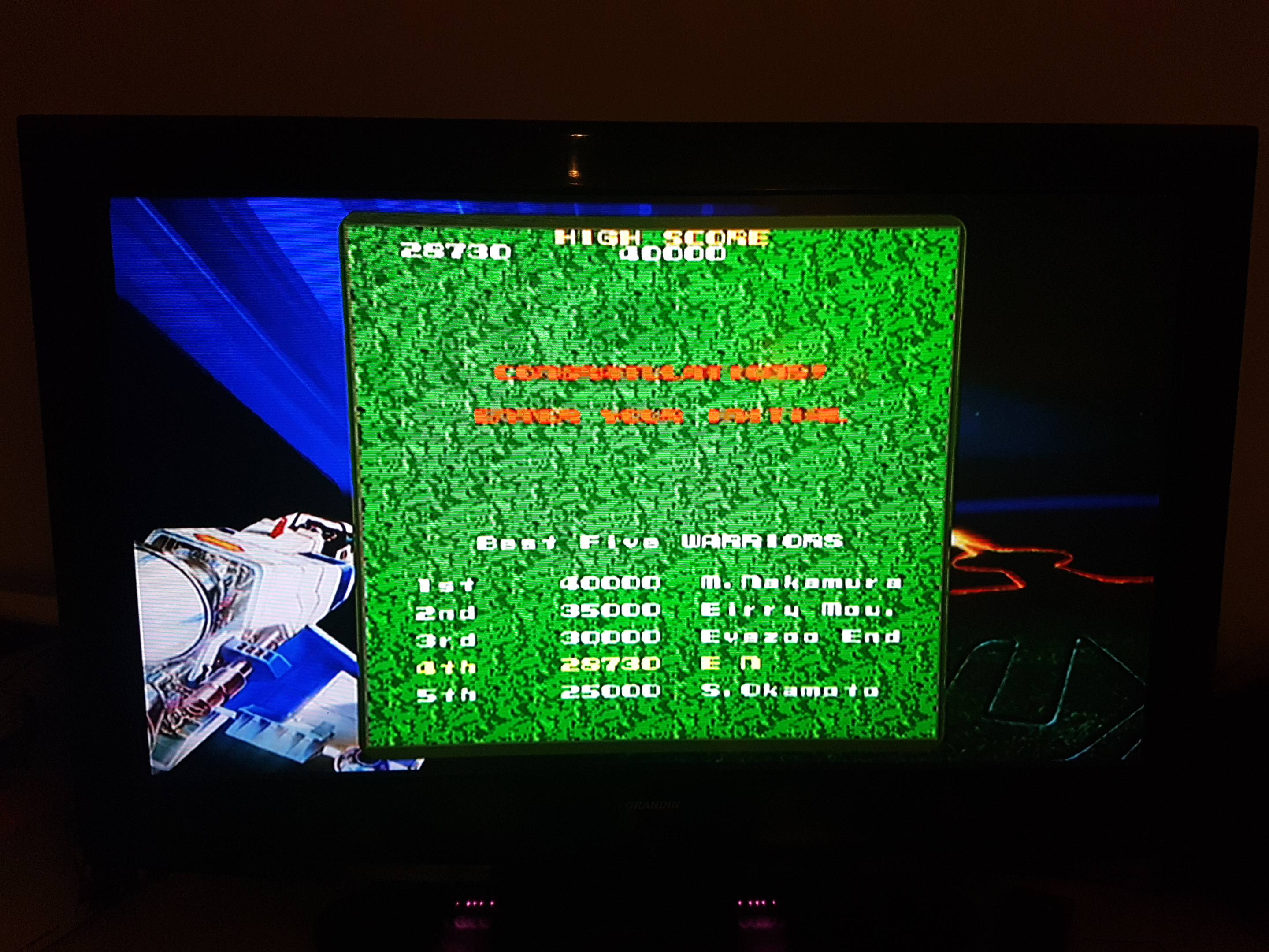 EddieNiceguy: Namco Museum Megamix: Xevious (Wii) 28,730 points on 2018-11-23 16:16:47