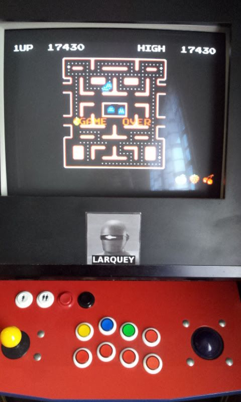 Larquey: Namco Museum: Ms. Pac-Man (GBA Emulated) 17,430 points on 2017-11-03 04:40:24