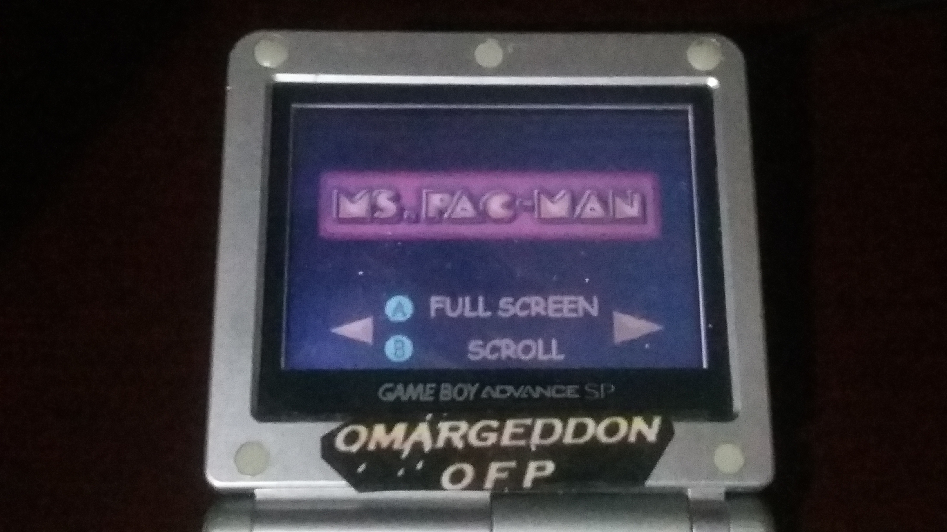 omargeddon: Namco Museum: Ms. Pac-Man (GBA) 15,760 points on 2018-04-11 20:16:47