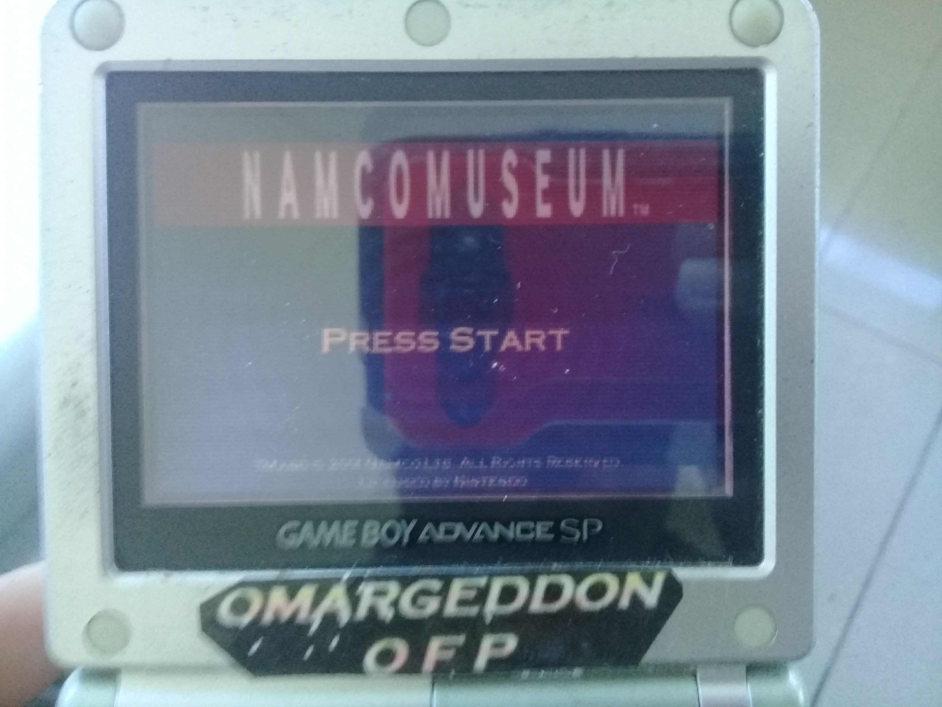 omargeddon: Namco Museum: Ms. Pac-Man (GBA) 20,140 points on 2018-11-19 09:57:21