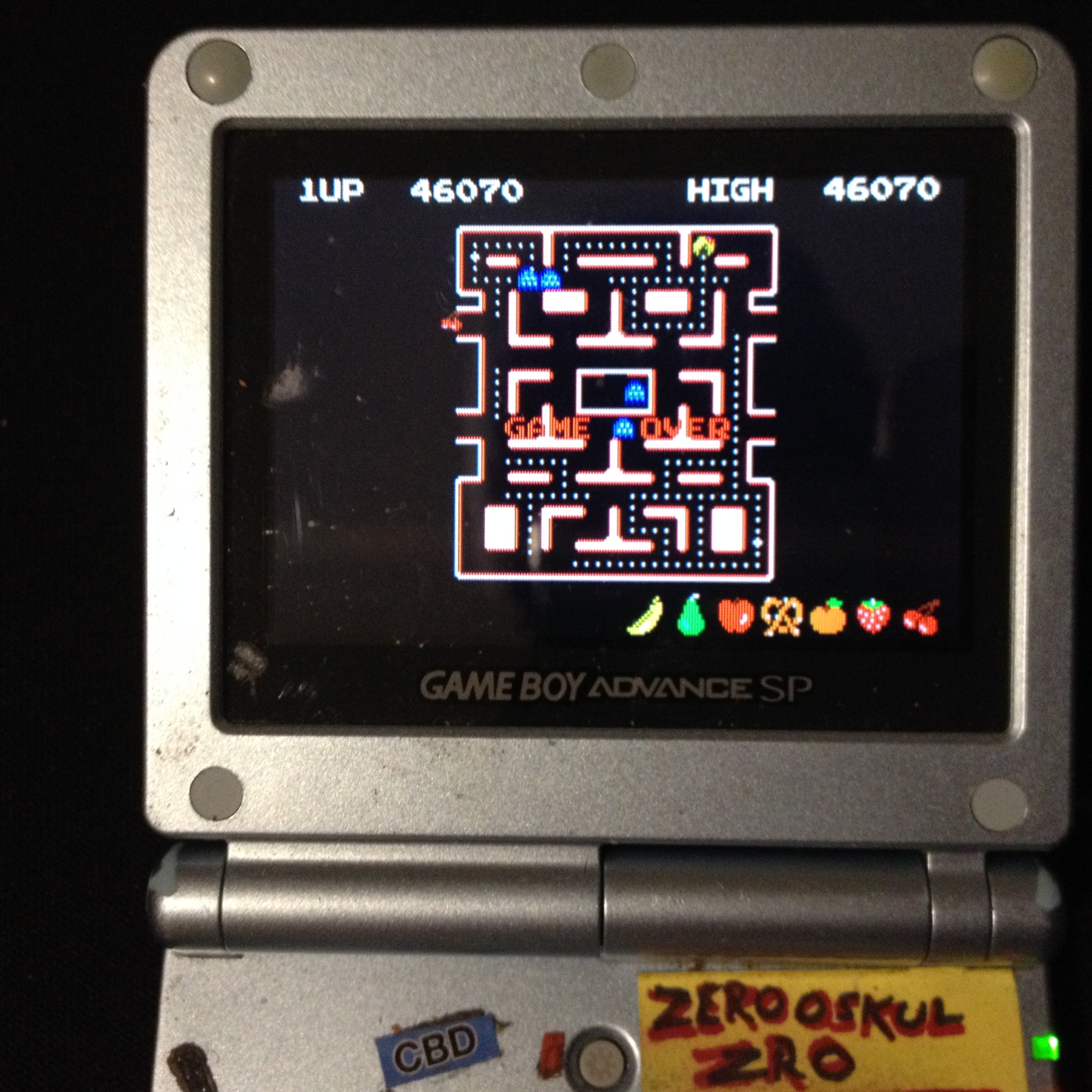 Namco Museum: Ms. Pac-Man 46,070 points