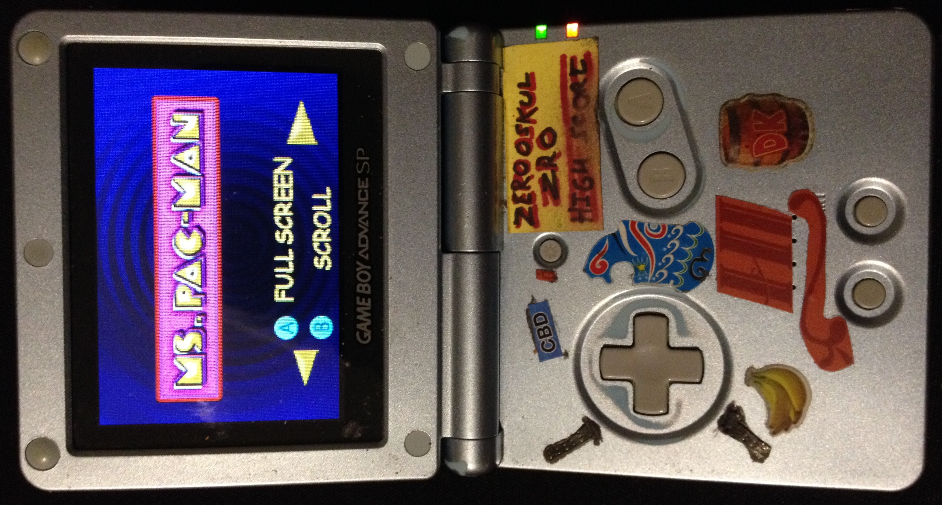 zerooskul: Namco Museum: Ms. Pac-Man (GBA) 46,070 points on 2020-02-03 00:47:19