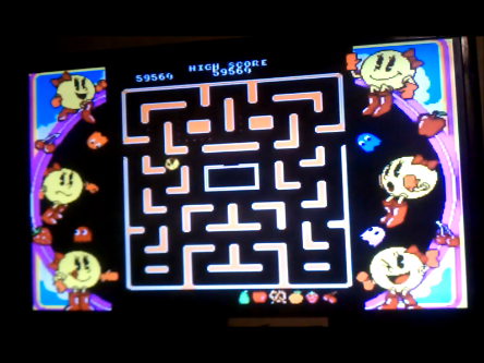 S.BAZ: Namco Museum: Ms. Pac-Man (N64) 59,560 points on 2016-04-13 22:58:40