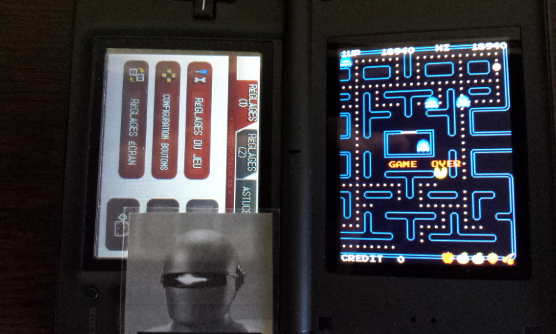 Larquey: Namco Museum: Pac-Man (Nintendo DS) 18,940 points on 2017-10-15 04:34:55