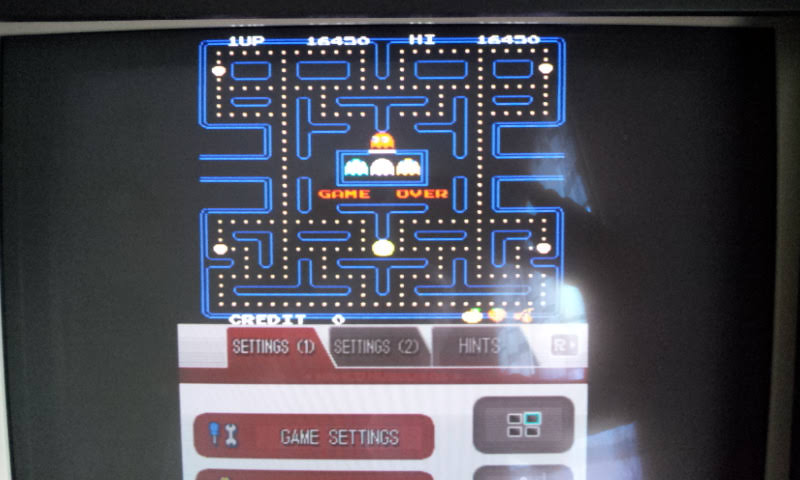 Larquey: Namco Museum: Pac-Man (Nintendo DS Emulated) 16,450 points on 2018-08-15 05:29:20