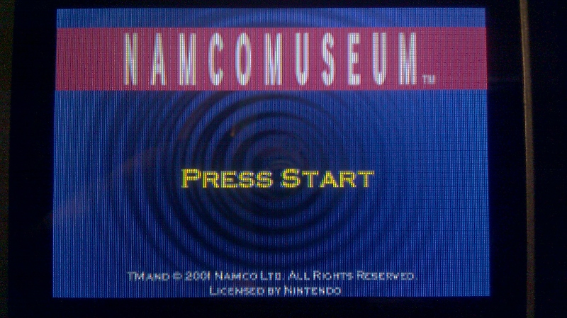 Namco Museum: Pole Position 56,000 points