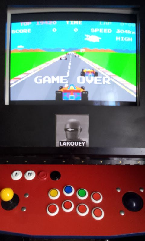 Larquey: Namco Museum: Pole Position (GBA Emulated) 19,420 points on 2017-11-03 05:11:31